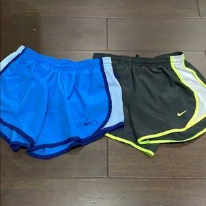 2 Nike Dri-fit children's shorts